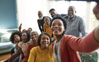 Social Distancing in a Multigenerational Family