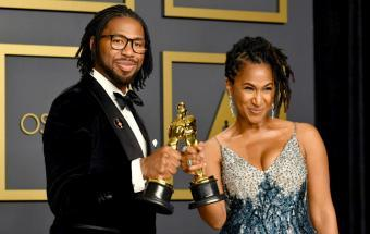 "Former NFL Player Wins Oscar for ""Hair Love"""